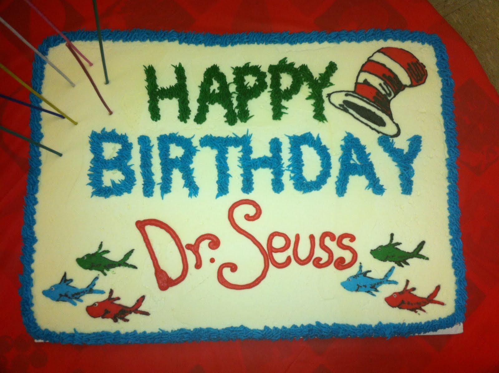 Piedmont Pi Beta Phi Alumnae Club Dr Seuss Birthday Cake