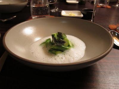 Asparagus at Coi