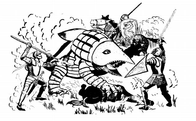 from AD&D Monster Manual, 1979, unknown artist
