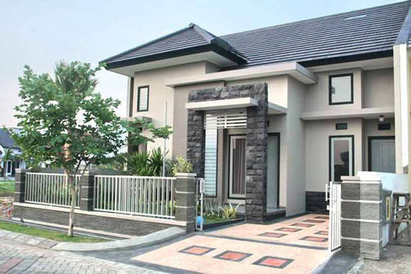 Contoh Gambar Rumah Minimalis Modern Sudut - 15 & Koleksi Gambar Rumah Minimalis | Desain Rumah Sederhana interior ...