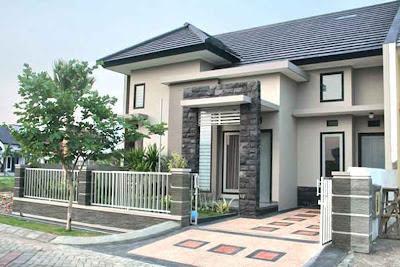 rumah minimalis tampak depan on Contoh Gambar Rumah Minimalis Modern Sudut - 15