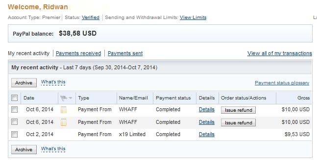 Cara Mengisi Saldo Paypal Gratis Dan Cepat