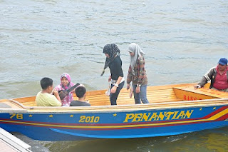 Water Taxis in Kampong Ayer Brunei Darussalam