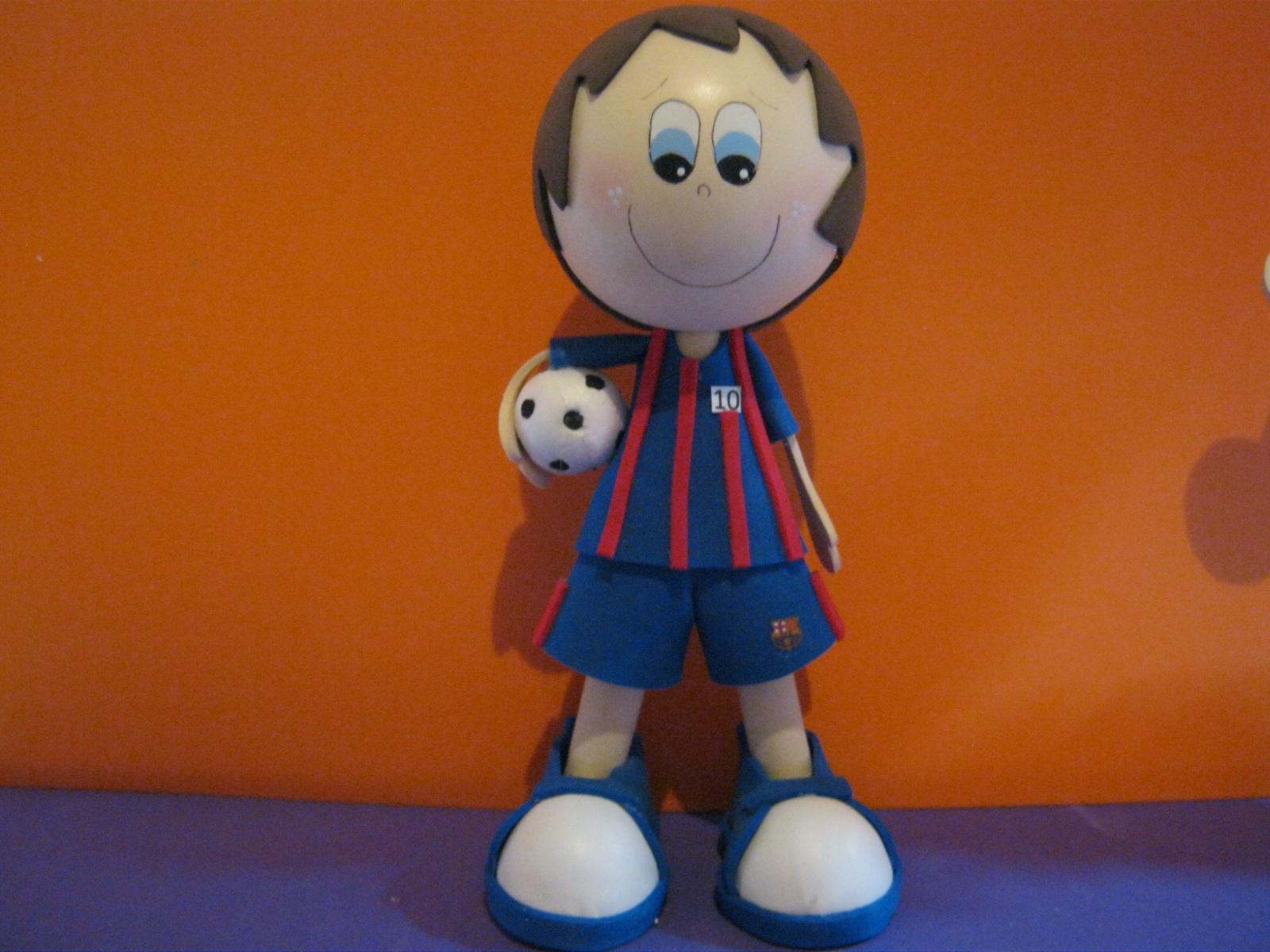 Fofucho Futbolista Messi FC Barcelona España ARTFOAMICOL