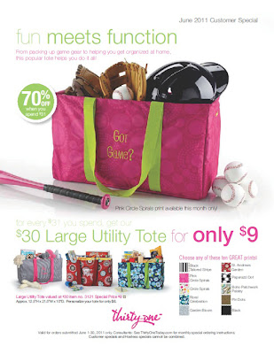 Related image with Thirty One June Specials