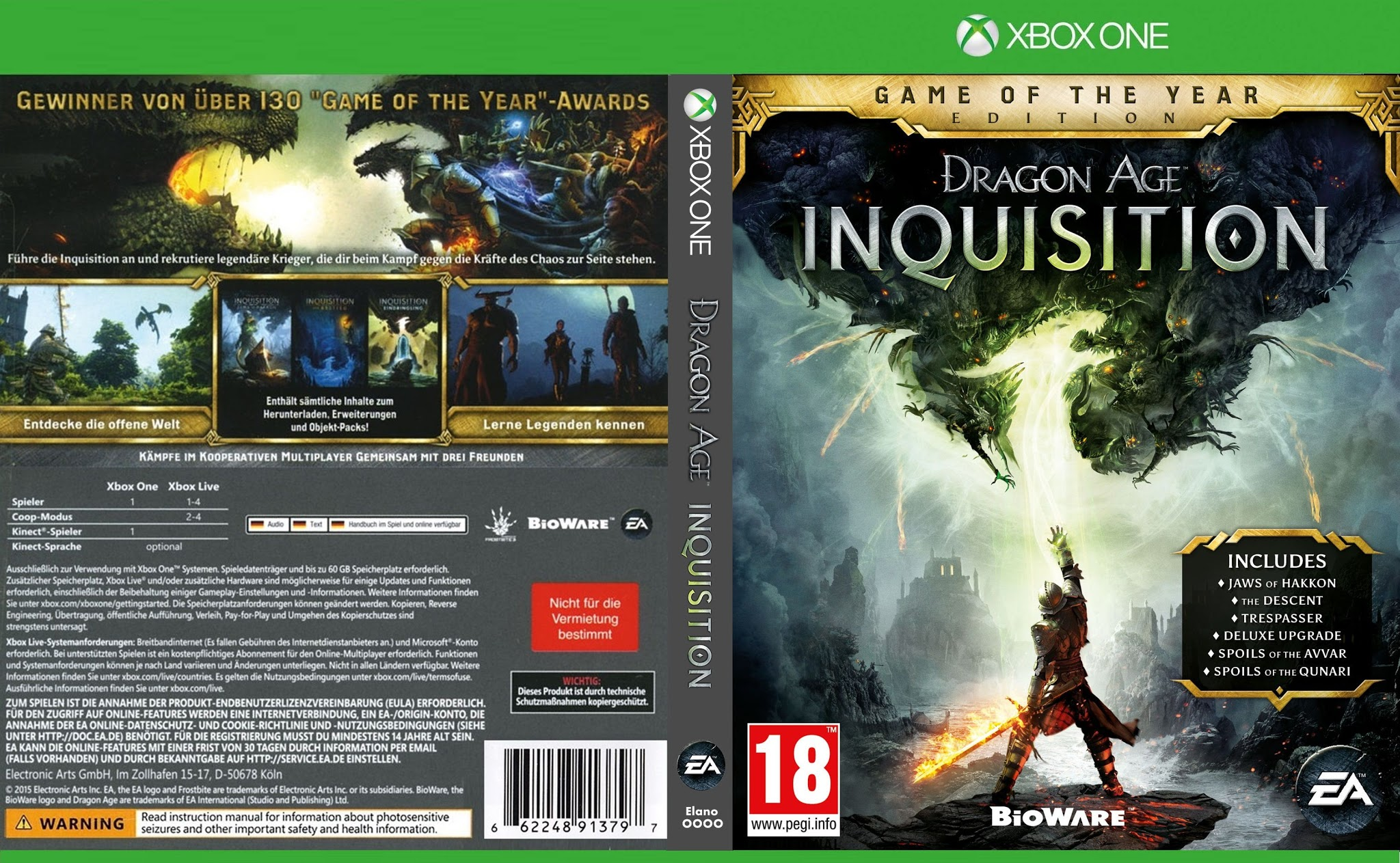 Dragon Age: Inquisition - Wikipedia