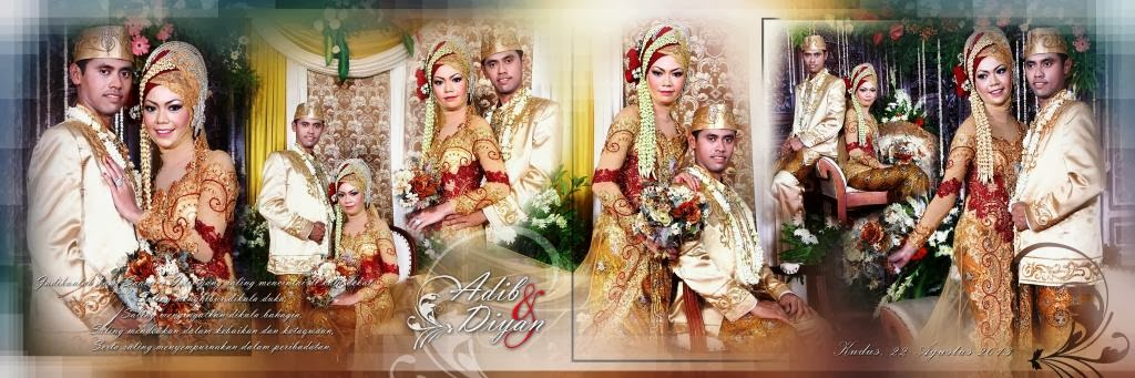 sample jasa fotografi pernikahan / wedding semarang professional