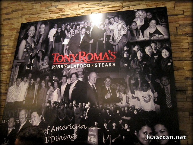 Tony Roma's.. Ribs, Seafood and Steaks