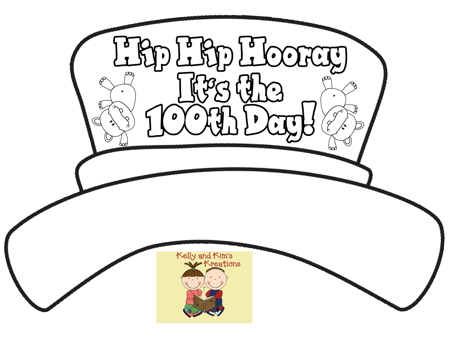 and s kreations 100th day friday freebie