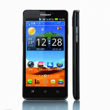 Coolpad 7290 4.5-inch 3G 900/2100MHZ MTK6577 Dual-core Smartphone