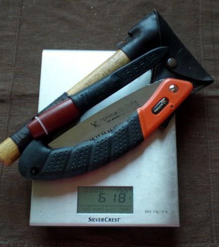 Sierra, hacha y cuchillo, la alternativa lógica a un único cuchillo grande 618