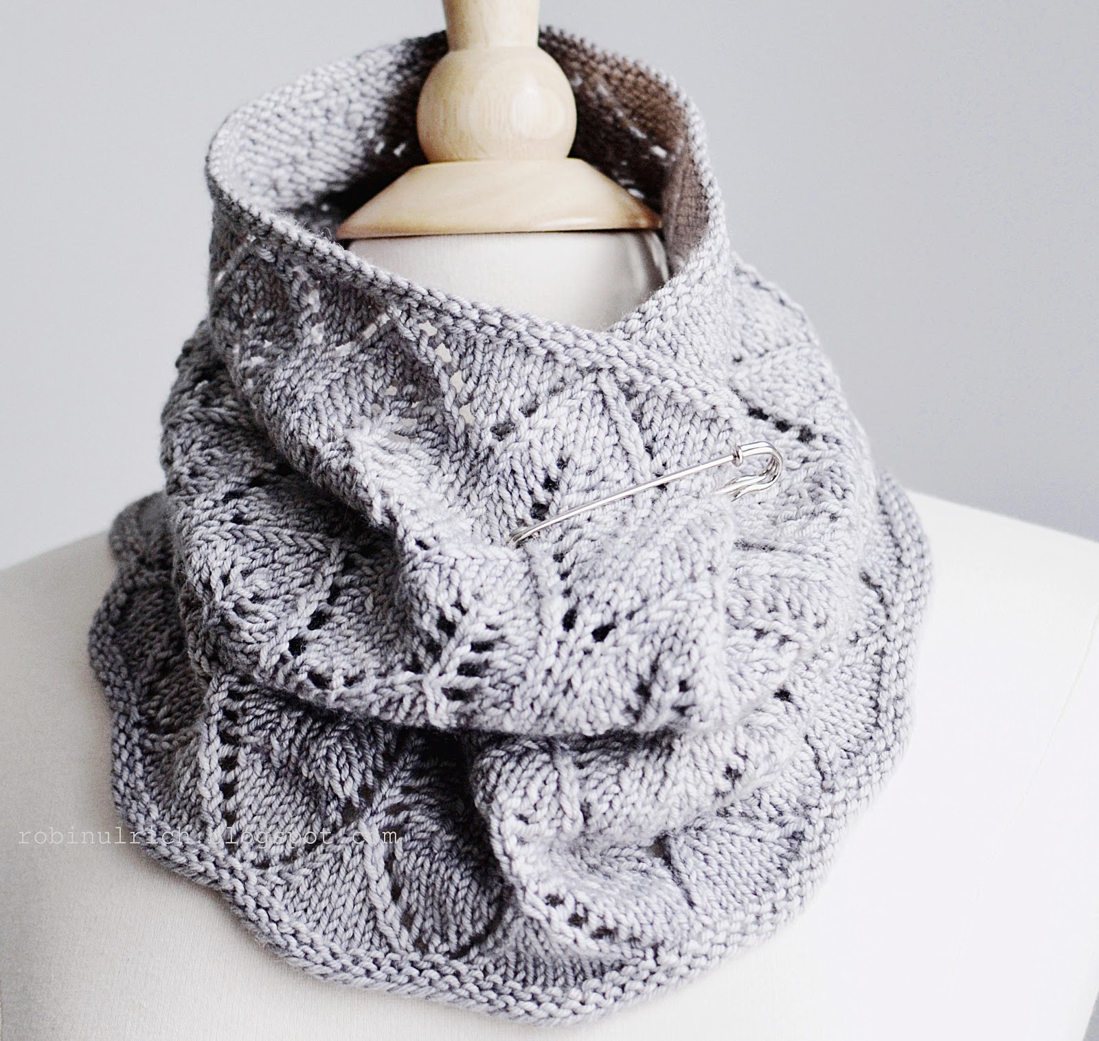 Knit Lace Cowl Pattern Gallery - handicraft ideas home decorating