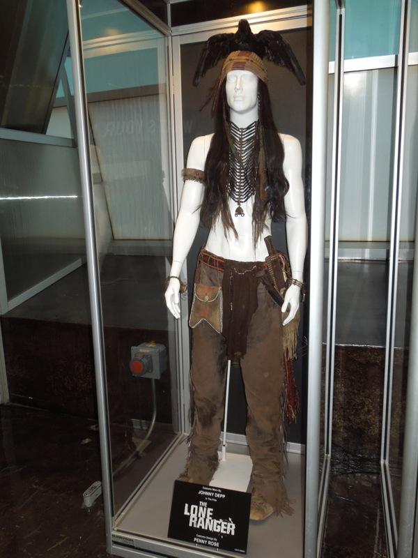 Johnny Depp Tonto costume Lone Ranger