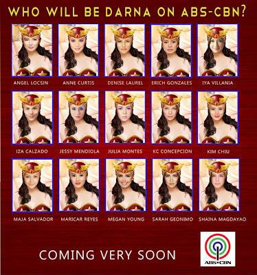ABS-CBN's Darna: Choose your Darna Now