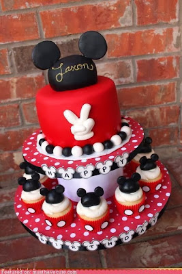 Tarta orejas de Mickey
