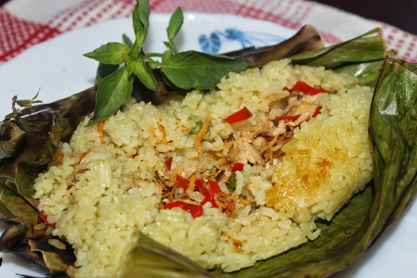 Resep Membuat Nasi Bakar Special Enak