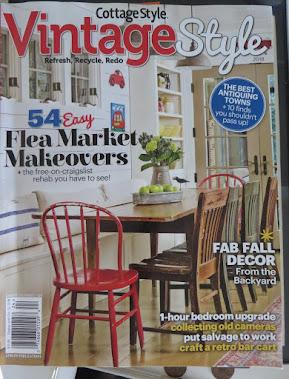Vintage Style  Cottage Style 2018 Summer/Fall Magazine