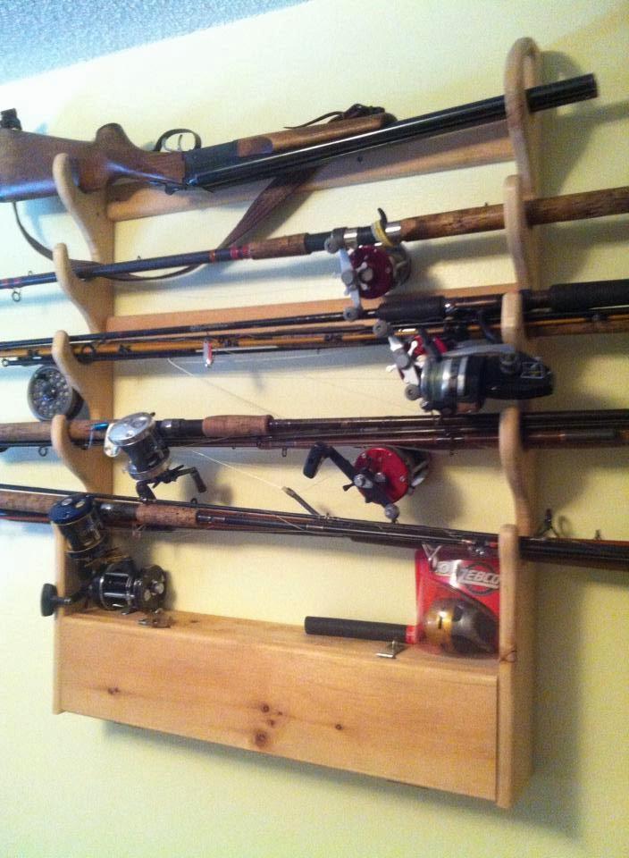 Ebenezer talent auction 2014 for Gun fishing rod