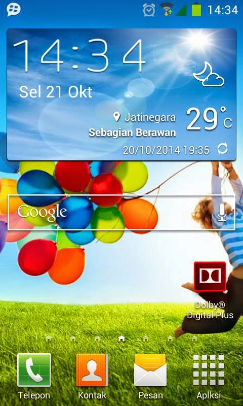... akan Share Custom Rom ROM SAMSUNG GALAXY S4 [Andromax G Jelly Bean