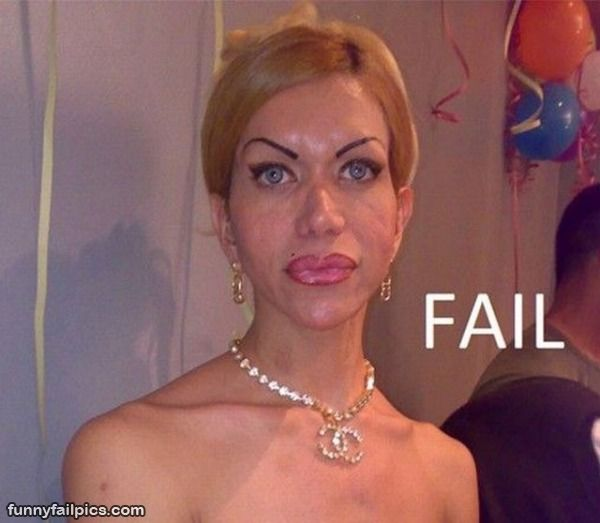 Worst make up epic fail funny photos funny indian for Www famil