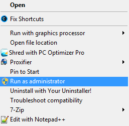 how to uncheck run game as administrator
