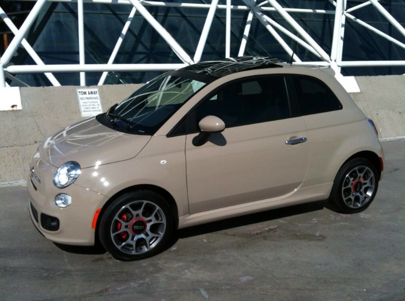 2013 Fiat 500 Colors Gallery