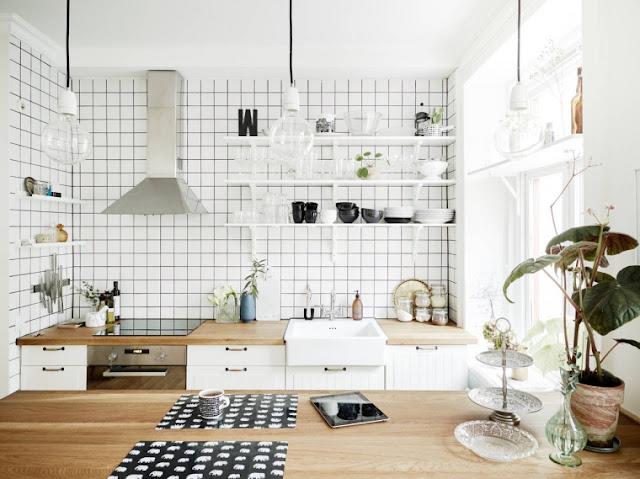 Cocina apartamento pequeño