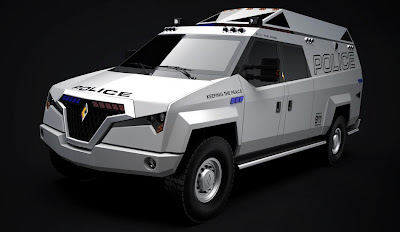 Carbon TX7 Multi Mission Vehicle (2013) Front Side