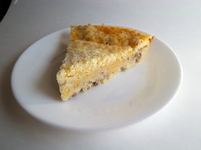 Quick and Easy Quiche using Bisquick