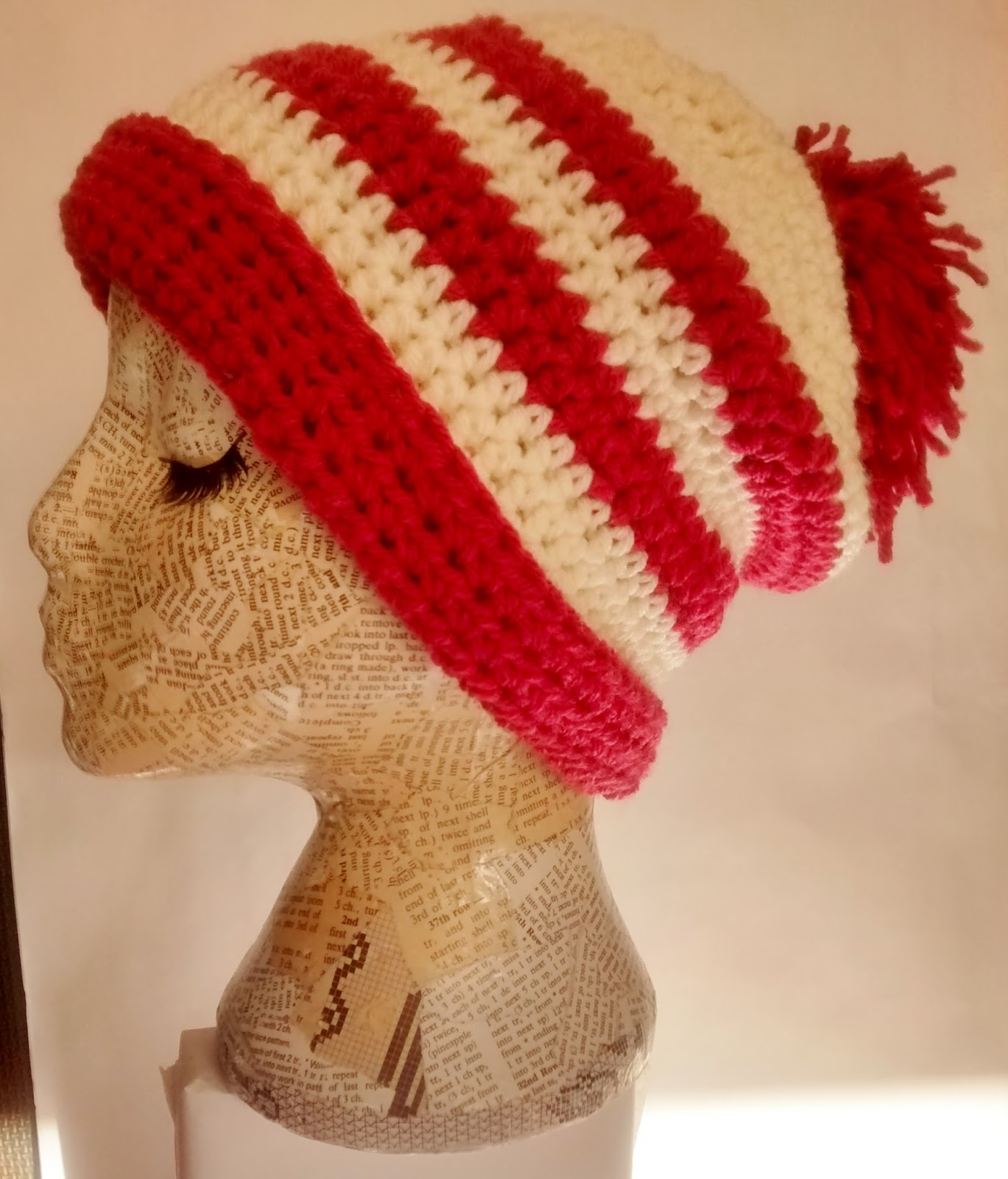 String Theory Crochet: Very quick, very easy crochet hat pattern ...
