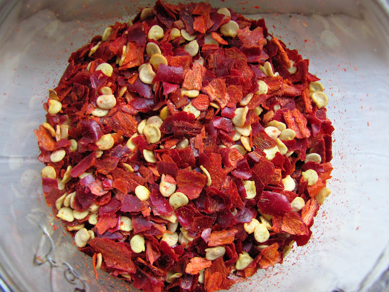 Sweet Domesticity: Crushed Red Pepper Flakes