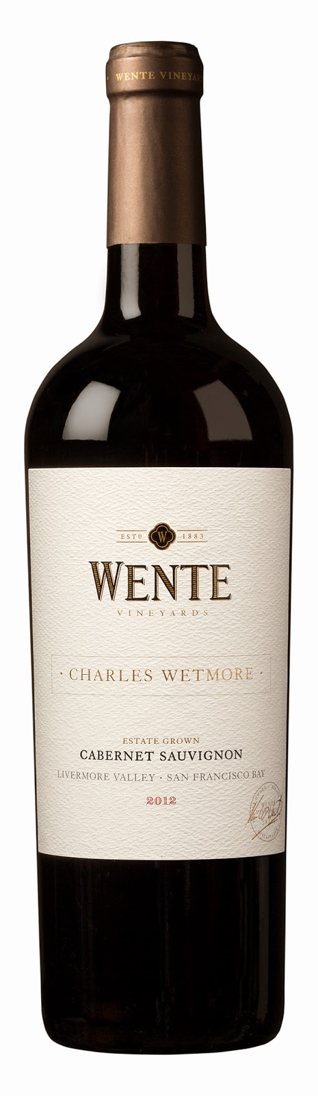 Wente Wine Charles Wetmore Estate Grown Cabernet Sauvignon