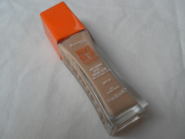 A picture of Rimmel Wake Me Up Anti-Fatigue Effect + Radiant Glow Foundation