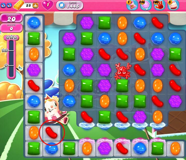 Candy Crush Saga 1445