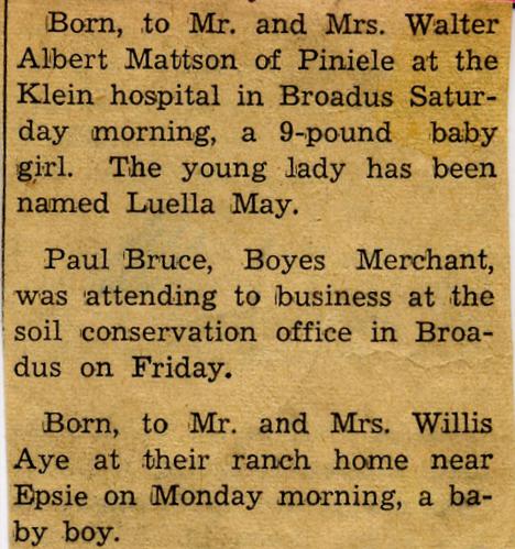 AN AMERICAN DYNASTY Jul 3 2012 – Birth Announcement in Newspaper