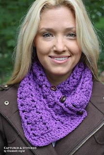 Ashlyn Scarf crochet pattern from Crochet by Jennifer