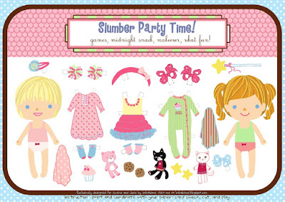 Summer Dress-Up Paper Doll