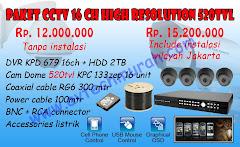 PAKET CCTV 16 CANAL  AVTECH
