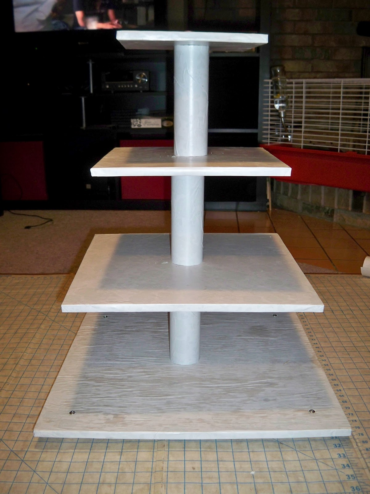the colourful cake princess diy cake cupcake stand. Black Bedroom Furniture Sets. Home Design Ideas