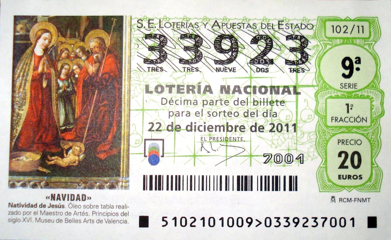 Not hemingway s spain el gordo lottery mania in spain