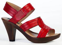 zapatos Belén Esteban rojos