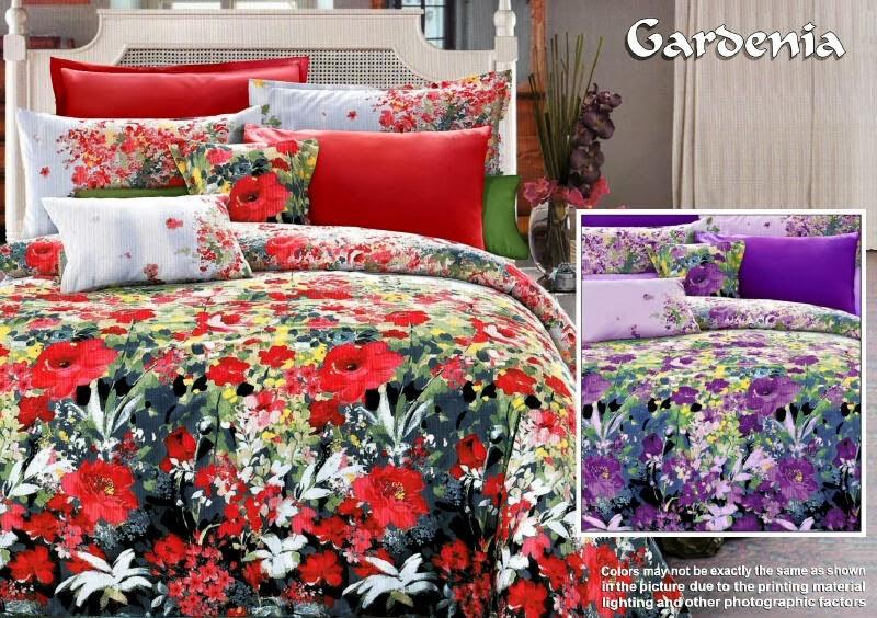 Sprei Renette Motif Gardenia