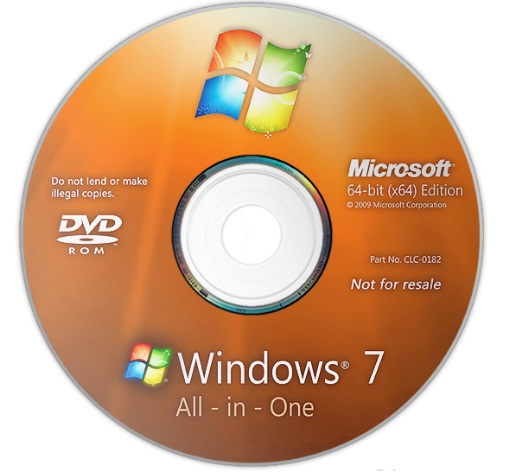 Download Windows 7 All in One (All Edition 64bit & 86bit)