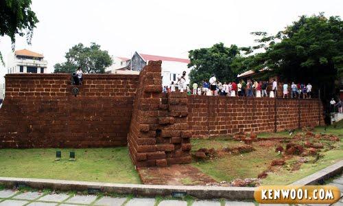 malacca fort