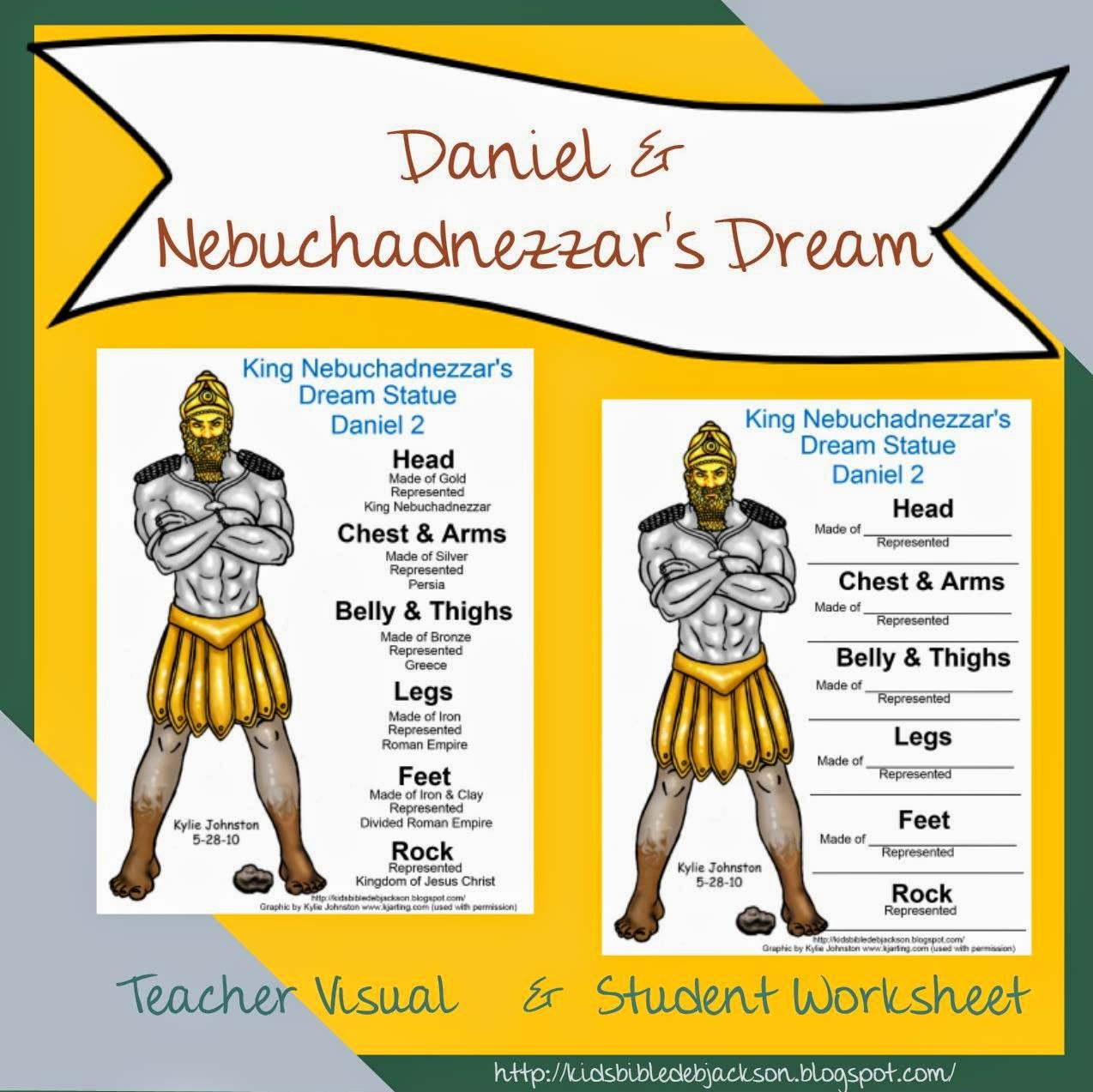 Daniel Bible Craft Nebuchadnezzar Dream
