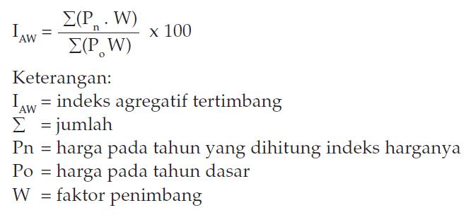 Metode Menghitung Indeks Harga 5