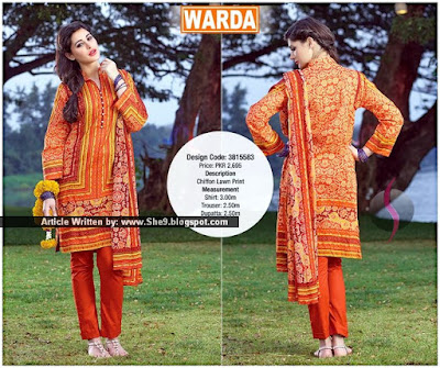 Choose Best Eid Designer Lawn Suit