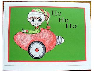 Christmas Bulb Car