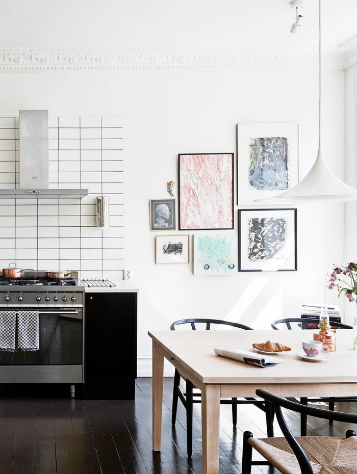 cool chic style attitude apartament swedish interiors