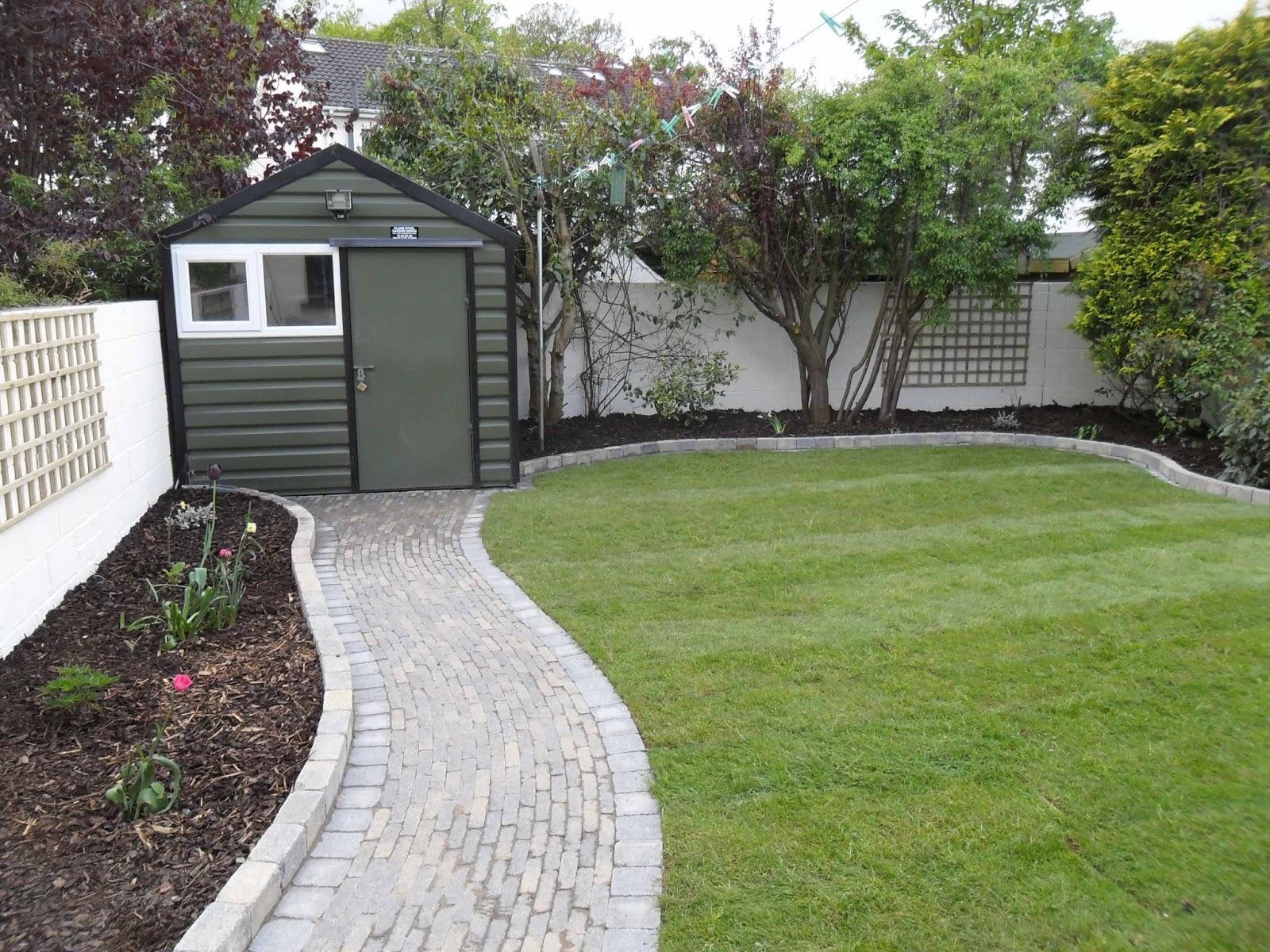 Greenart landscapes garden design construction and for Garden path designs uk
